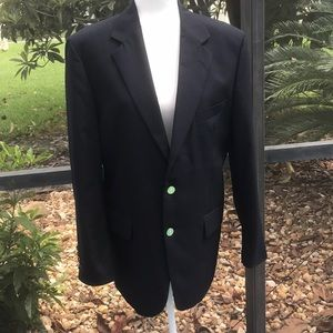 Savile Row Navy Blazer from Macy's Mens Store